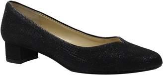 J. Renee Low Heel Glitter Pumps - Bambalina
