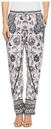 Hale Bob Simply Irresistible Stretch Satin Pants Women's Clothing
