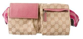 Gucci GG Canvas Small waist belt Bag