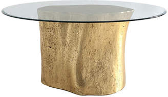 "Log 36"" Dining Table - Gold Leaf - Phillips Collection"