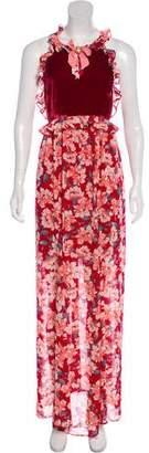 For Love & Lemons Sleeveless Maxi Dress w/ Tags