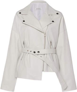 Boyarovskaya Leather Motto Jacket