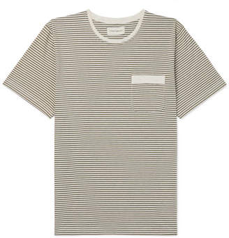 Oliver Spencer Envelope Striped Cotton-Jersey T-Shirt