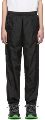 Acne Studios Black Phoenix Face Nylon Lounge Pants