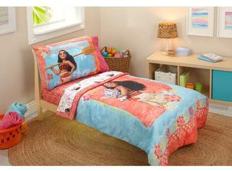 Disney Moana 4 Piece Toddler Bedding Set