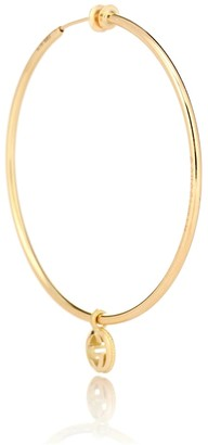 Gucci Double G 18kt gold single earring