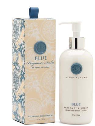 Niven Morgan Blue Body Lotion, 12 oz.