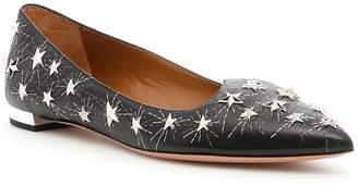 Aquazzura Cosmic Star Ballerinas