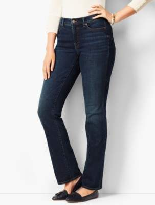 Talbots High-Rise Barely Boot Jeans - Curvy Fit/Pioneer Wash