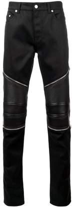 Saint Laurent skinny biker jeans