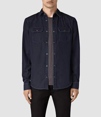 AllSaints Airlie Denim Shirt