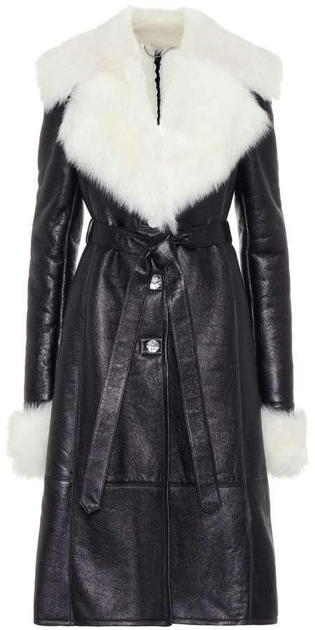 Magda Butrym Hudson leather coat
