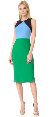 Diane von Furstenberg Sleeveless Midi Dress $398 thestylecure.com