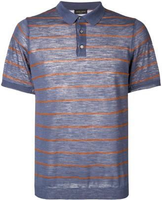 Roberto Collina buttoned polo shirt