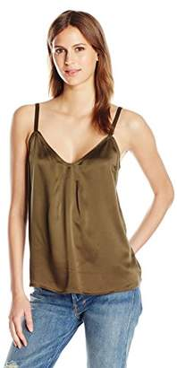 Vince Women's Pleat Neck Cami,M