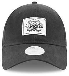 New Era Womens New York Yankees Vintage Patched 9Twenty Cap