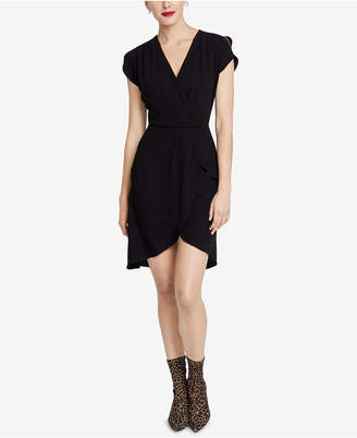 Rachel Roy High-Low Faux-Wrap Dress, Created for Macy's