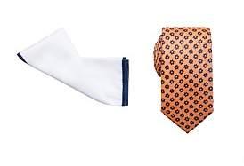 Geoffrey Beene Tie & Pocket Square