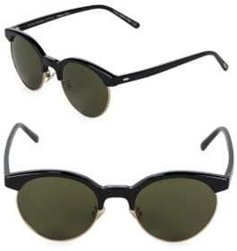 Oliver Peoples Ezelle 51MM Round Sunglasses