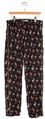 Scotch R'Belle Girls' Abstract Print Elasticized Joggers