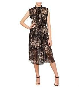 Zimmermann Maples Ruffle Neck Dress