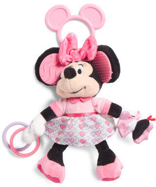 Minnie Mouse Activity Plush Toy
