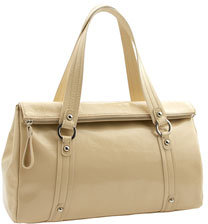 Nordstrom Fold Top Patent Leather Satchel