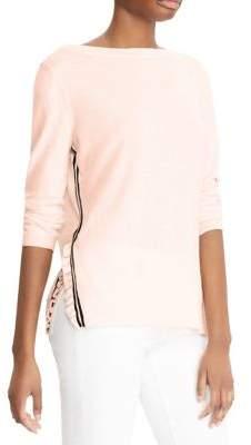 Lauren Ralph Lauren Stripe-Print Sweater