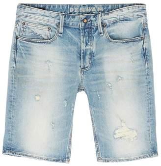 Denham Jeans 'Razor' ripped slim fit denim shorts