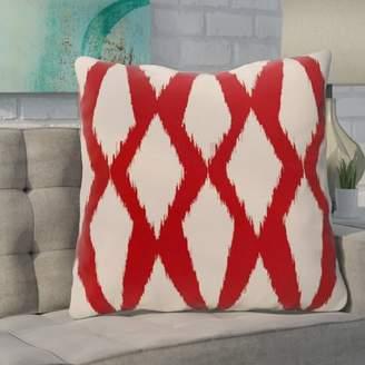 Bronx Ivy Blasingame Geometric Decorative Outdoor Pillow