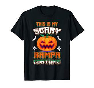 This Is My Scary Bampa Costume Halloween Shirt