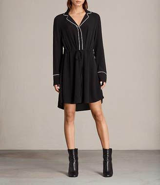 AllSaints Leon Shirt Dress