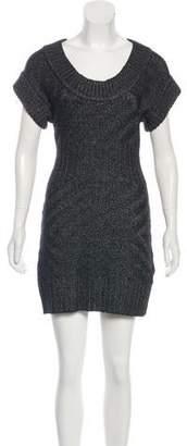 Armani Exchange Mini Knit Dress