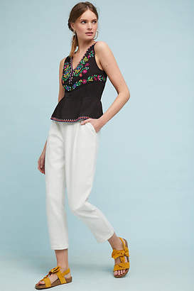 Maeve Carlotta Embroidered Blouse