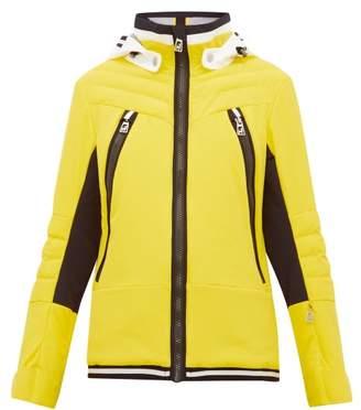 Toni Sailer Cosima Striped Soft Shell Ski Jacket - Womens - Yellow