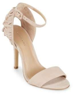 Saks Fifth Avenue Phoenix Leather Ankle-Strap Sandals