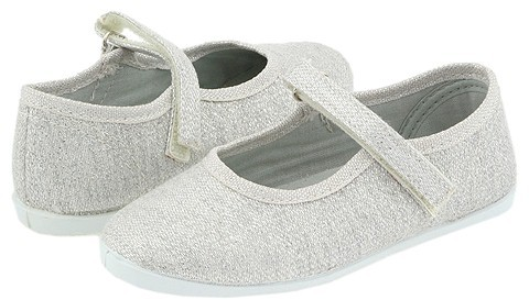 Cienta Kids Shoes - 86-013 (Toddler/Youth) (Silver Sparkle)