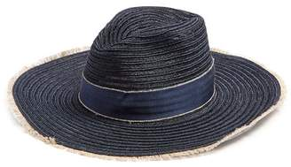 Filù Hats Filu Hats - Batu Tara Hemp Straw Hat - Womens - Navy