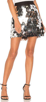 Milly Sequin Modern Mini Skirt