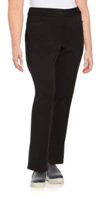 Rafaella Plus Straight-Leg Dress Pants