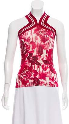 Jean Paul Gaultier Soleil Sleeveless Printed Top
