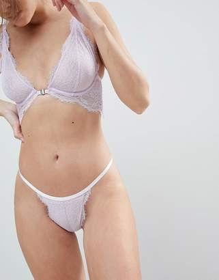 Free People Lace Tanga Underwear