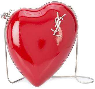 heart shaped cross body bag