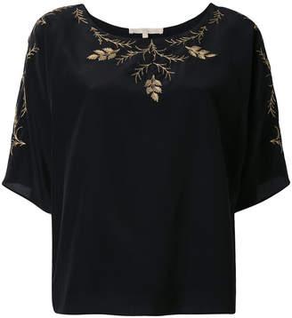 Vanessa Bruno floral embroidery blouse