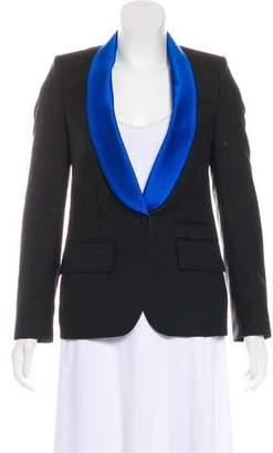Stella McCartney Structured Wool-Blend Blazer