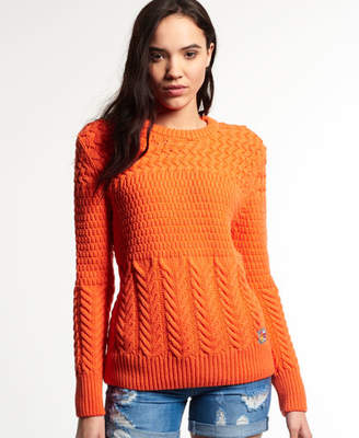 Superdry South Bay Stitch Crew Jumper