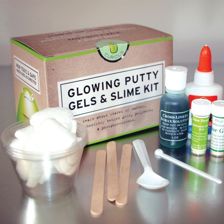 Discovery Glowing Putty Gels & Slime Kit