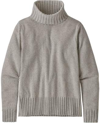 Patagonia Women's Recycled Cashmere Turtleneck