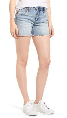 KUT from the Kloth Gidget Cutoff Denim Shorts