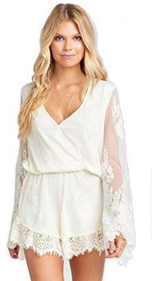 Show Me Your Mumu Women's Loretta Romper